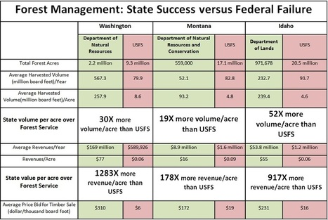 State Forests Management Superior to Federal Forests for Job ... | Idaho Economy | Scoop.it