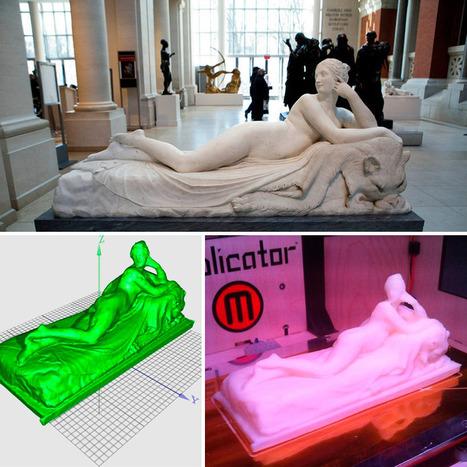 Le MET met en ligne plusieurs modèles imprimables en 3D issus de sa collection de sculptures | marque-page | Scoop.it
