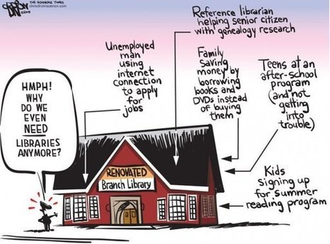 Why Do We Need A Public Library | Facebook | EdTech Equity | Scoop.it