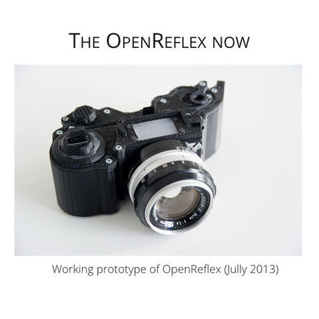 Save Your Lens: OpenReflex Camera Available And Ready to Upgrade with Financial Support - 3D Printing Industry | 3D Printing Industry | Scoop.it
