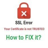 How to Fix SSL Certificate  Errors | Comodo SSL | Scoop.it