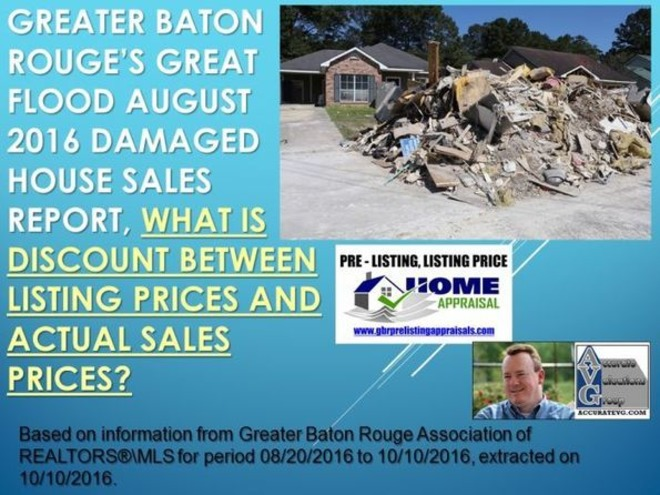 Baton Rouge's Great Flood 2016 – How much are investors paying for damaged houses? | Baton Rouge Real Estate Housing News | Baton Rouge Real Estate News | Scoop.it