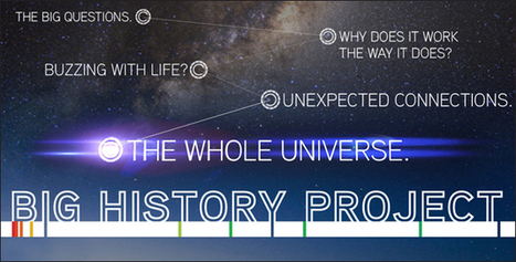 Big History: David Christian Covers 13.7 Billion Years of History in 18 Minutes | Learning Happens Everywhere! | Scoop.it