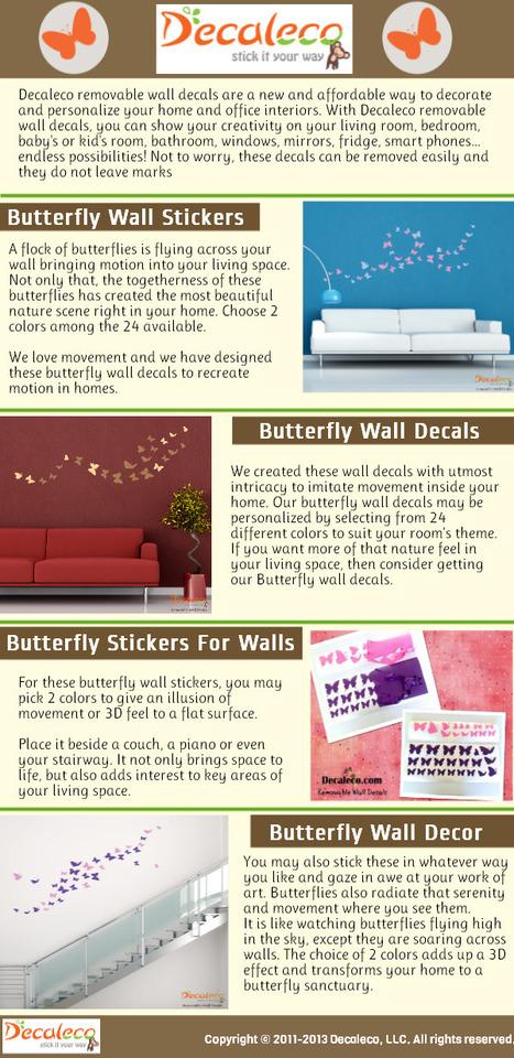 Butterfly Wall Stickers | Butterfly Wall Stickers | Scoop.it