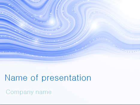 Download free Blue Winter powerpoint template for presentation | Powerpoint Templates and Themes | Scoop.it