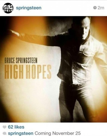 It's Official ! Springsteen's newest single 'High Hopes' to be released 11/25/13 - Blogness | Bruce Springsteen | Scoop.it