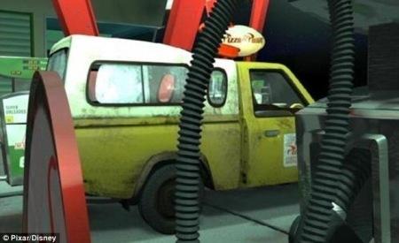 O caminhão misterioso que aparece em todos os filmes da Pixar ... | Animated... | Scoop.it