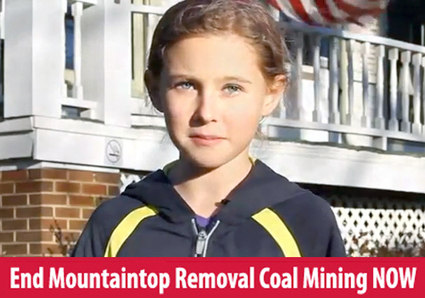 From the Mouth of Babes: President Obama, End Mountaintop Removal Now | EcoWatch | Scoop.it