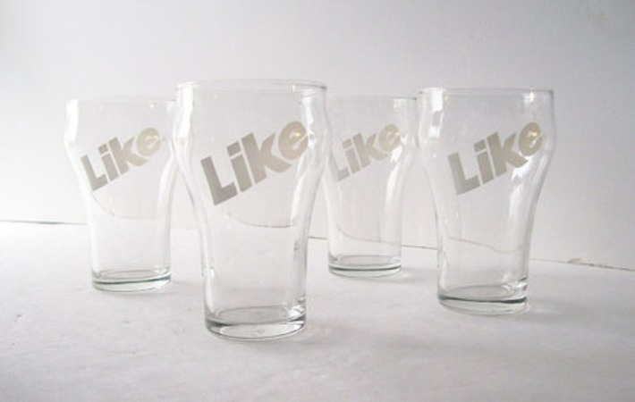 vintage retro like soda glassware | Kitsch | Scoop.it