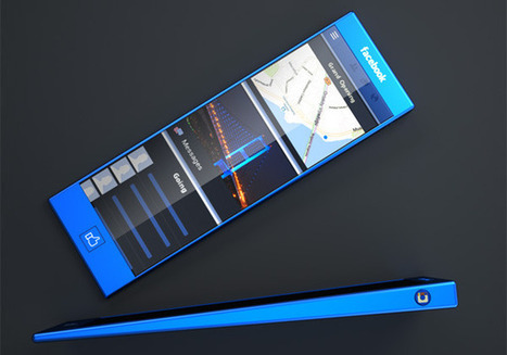 The Blue Experience – Facebook Phone by Tolga Tuncer | WEBOLUTION! | Scoop.it