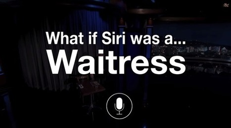 Humor: What If Siri Was A… Waitress [Video] | MarketingHits | Scoop.it