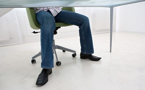 Sitting down at work 'increases risks of cancer' - Telegraph | Health for Work | Scoop.it
