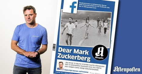 Dear Mark Zuckerberg. I shall not comply with your requirement to remove this picture. | Avenir de la presse | Scoop.it