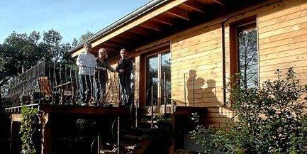 La maison écolo qui se chauffe pour 50 € par an | Le chauffage au bois : du stockage du bois au poêle | Scoop.it