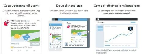 Twitter Ads Mobile per la promozione delle app su mobile device | News PMI Servizi | Web Marketing | Scoop.it