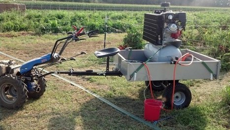 Robotic 'sand-blaster' removes weeds without chemicals | Gizmag | Cultibotics | Scoop.it