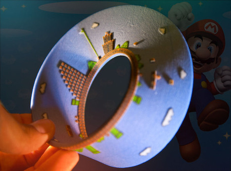 Mario in a 3D Printed Mobius Strip Runs on Forever, and Ever | Big and Open Data, FabLab, Internet of things | Scoop.it