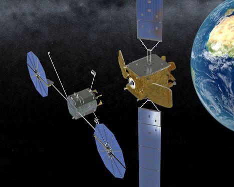Ravitailler un satellite en vol, ce sera bientôt possible avec le MEV   ça m intéresse !   Scoop.it