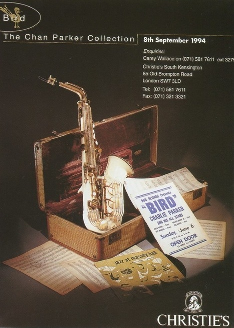 RK2012ARTS CHANNEL: Charlie Parker's plastic saxophone | Jazz Plus | Scoop.it