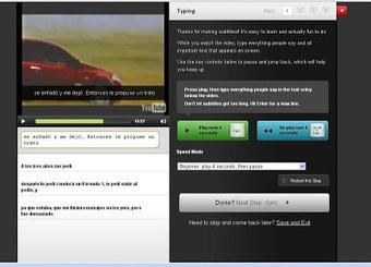 En la nube TIC: Subtitulación de vídeos con Amara | ticprojec | Scoop.it