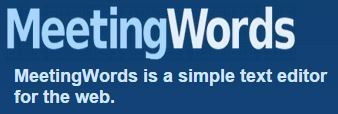 MeetingWords: Realtime Collaborative Text Editing | technologies | Scoop.it