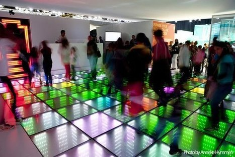 When sidewalks and dance floors become energy sources | TED Blog | JHS Energy | Scoop.it