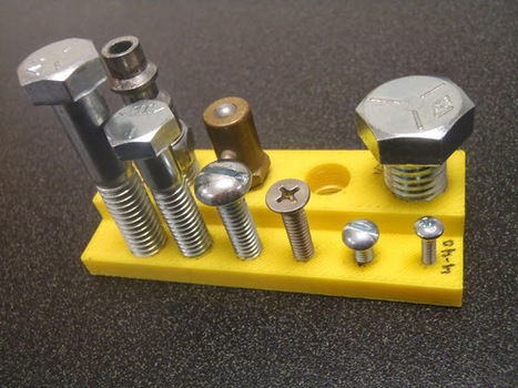 Fastening 3D Printed Parts - Hack a Day   3D printing   Scoop.it