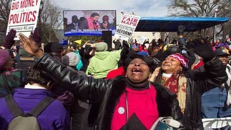 On Selma anniversary, North Carolina activists will march backwards | Mother Jones | 03/07/15 | FDW's Daily Scoops | Scoop.it