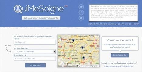 QuiMeSoigne : recherche de professionnels de santé en ligne | formation médico social 2013 | Scoop.it