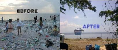 Photo of Freedom Island Before and After Series of Coastal Clean-ups | Makamundo (Earthly) | Scoop.it