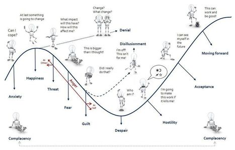 The 12 Emotional States of Change - People Development Network | Strategy, Changes & Processes | Scoop.it