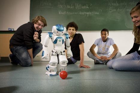 Un robot français séduit les universités du monde entier | Sciences & Technology | Scoop.it