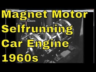▶ Lueling Permanent Magnet Motor - Vintage Selfrunning Magnet Motor from the 1960s - YouTube | Juncke EDVBeratung | Scoop.it