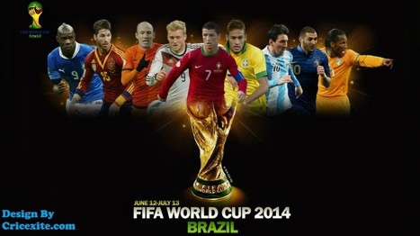 Football World Cup 2014 Live On Cricexite | Its All About Cricket | Football worldcup live 2014 | Scoop.it