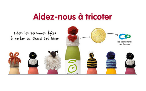 Influencia - BLOG-IN / DAILY - Innocent : le Tricot à Grande Vitesse | Marketing des associations | Scoop.it