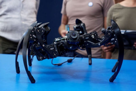 Giant 3D-printed robot spider | Robots and Robotics | Scoop.it
