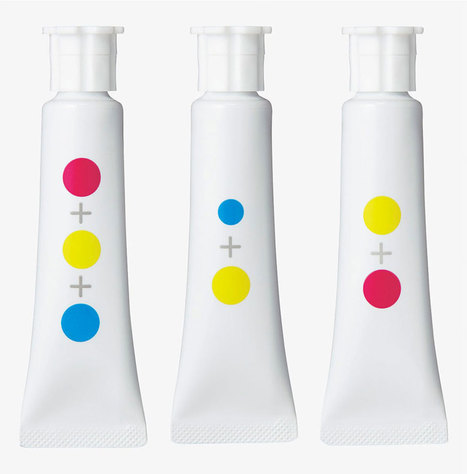 Ces Japonais ont créé des tubes de peinture sans texte pour changer la façon d'apprendre les couleurs aux enfants | SooCurious | Education - Formation | Scoop.it