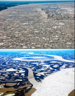 Why Arctic ice is disappearing more rapidly than expected: River ice reveals new twist on Arctic melt   Climate change challenges   Scoop.it