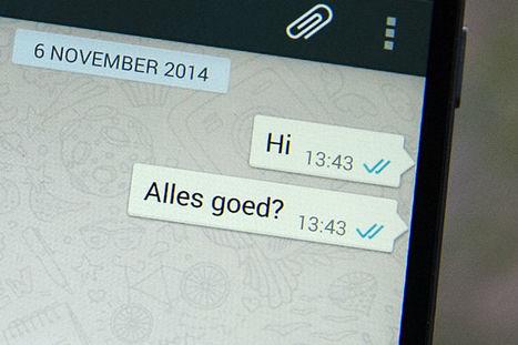 Whatsapp: dit zijn de do's en don'ts in de groepsapp - Elsevier.nl | Mediawijsheid en ouders | Scoop.it