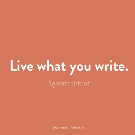 The 26 Surprising Rules Of Great Content Creation | Business in a Social Media World | Scoop.it