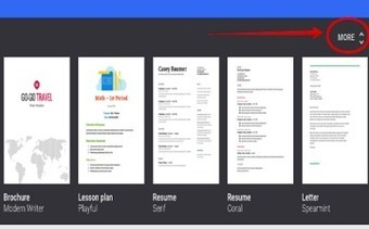 4 Great New Google Docs Templates for Teachers ~ Educational Technology and Mobile Learning | TEFL & Ed Tech | Scoop.it
