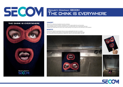 SECOM-The-chink-is-everywhere.jpg (2000x1414 pixels) | MdO | Scoop.it