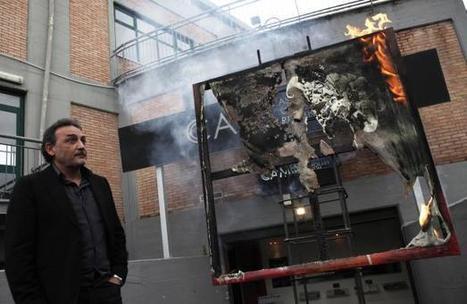 Italie: Un directeur de musée compte brûler mille œuvres d'art pour protester   Art, Culture & Société   Scoop.it