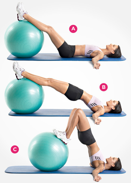 9 Butt Exercises for a Super-Toned Tush | Living A Healthy Active Lifestyle | Scoop.it