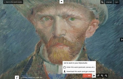 El Rijksmuseum ofrece 125 mil obras online para descargar y remezclar | Awesome digital art | Scoop.it