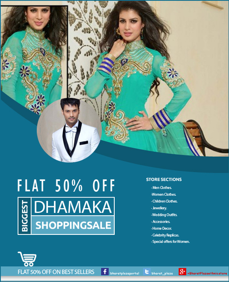 Fabulous Collection with flat 50% off having all the features that people love | Online Shopping India | Scoop.it