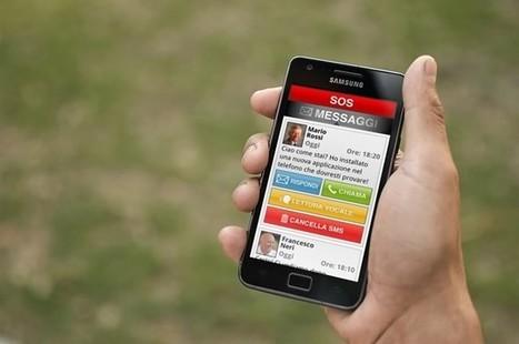 Smartphone a misura di anziano con un'app | Strumenti e Tecnologie | Scoop.it