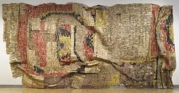 Brooklyn Museum: Gravity and Grace: Monumental Works by El Anatsui | Contemporary African Art | Scoop.it