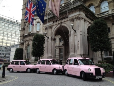 London hotel advert paints Edinburgh taxis pink - Top stories - Scotsman.com | Today's Edinburgh News | Scoop.it