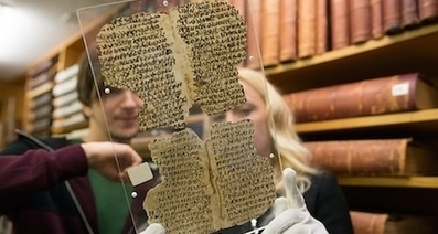 Ancient papyrus texts found in Basel uni library - The Local   Egiptología   Scoop.it